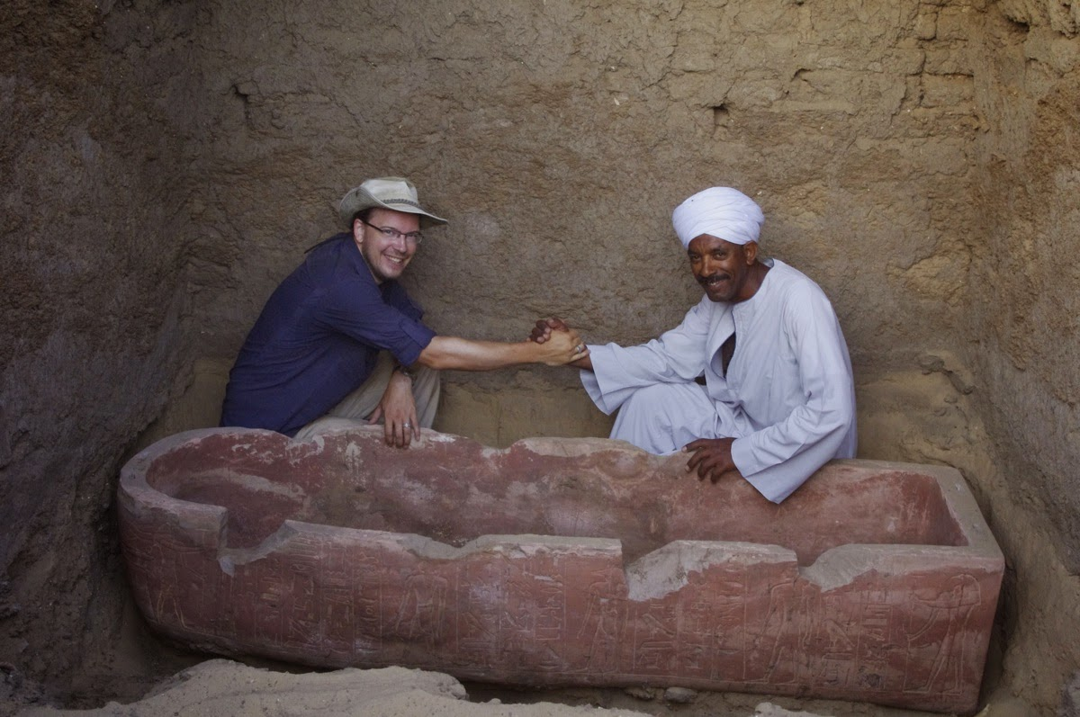 Elaborate tomb of Egyptian scribe discovered in Abydos
