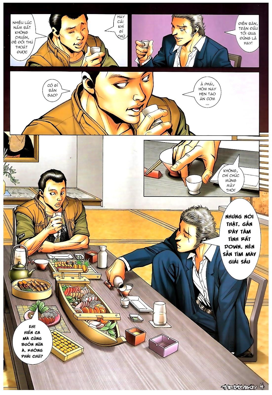 Người Trong Giang Hồ - Chapter 1378: Oan gia gặp nhau - Pic 3
