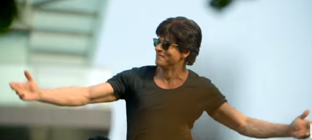 Shah Rukh Khan in the movie fan.