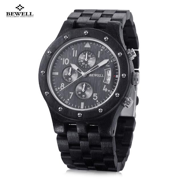 bewell wooden watch