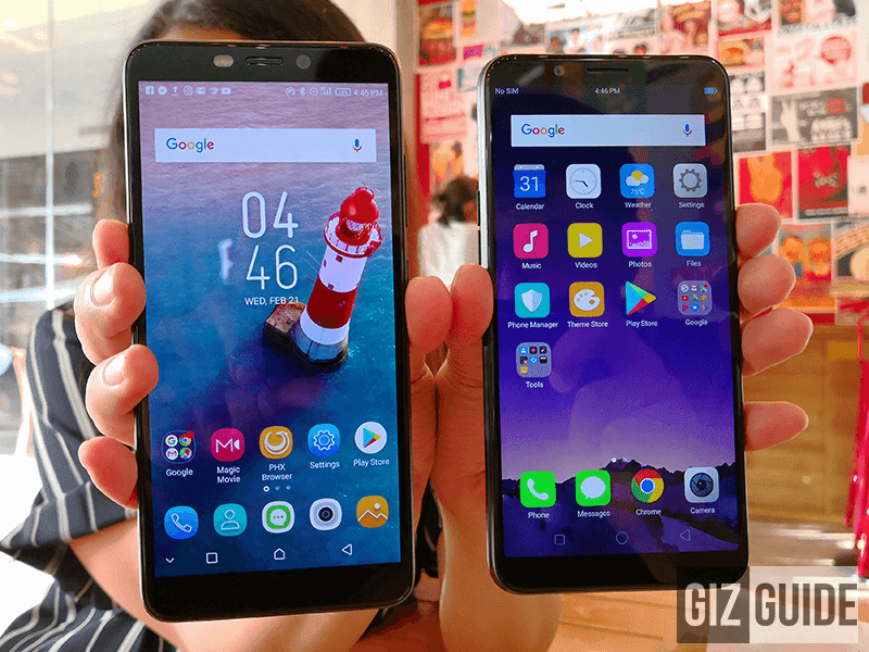 Infinix Hot S3 vs OPPO A83 Specs Comparison