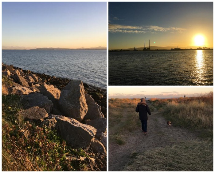 Dollymount strand and Bull Island, Dublin Northside