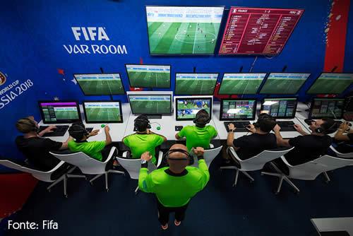 Sala do árbitro de vídeo