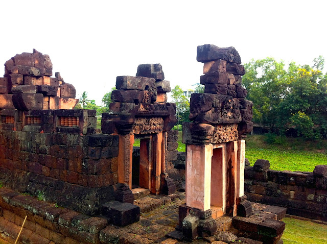 Prasat Puay Noi in Pueai Noi in North-East Thailand