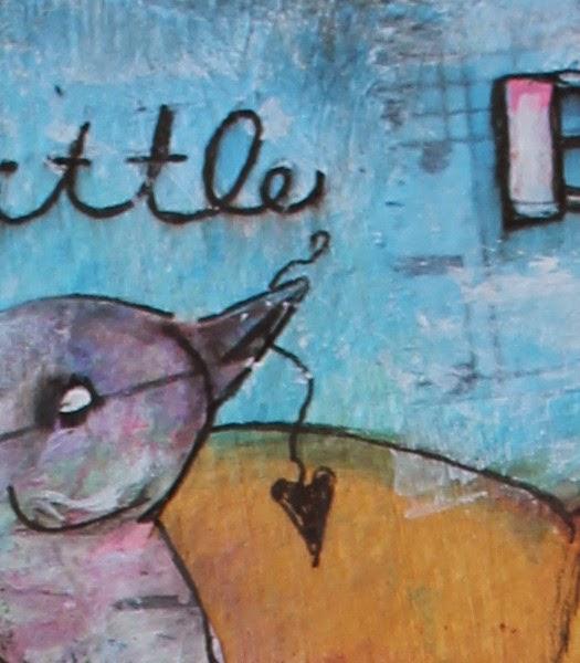 A Little Bird Told Me by Tori Beveridge Close up1