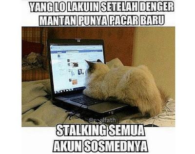"Meme Buat Orang Yang Suka Kepo ""Stalking"""
