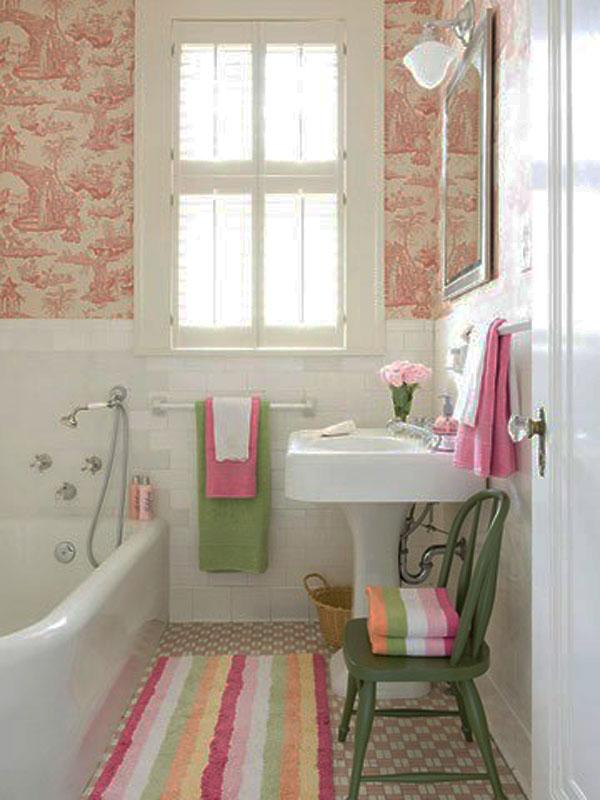 Hogares frescos 30 ideas para cuartos de ba os peque os y for Cuartos banos bonitos