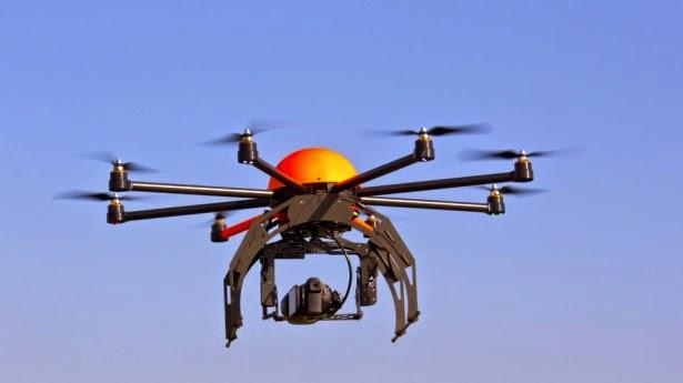 نموذج لطائرات Amazon Drones