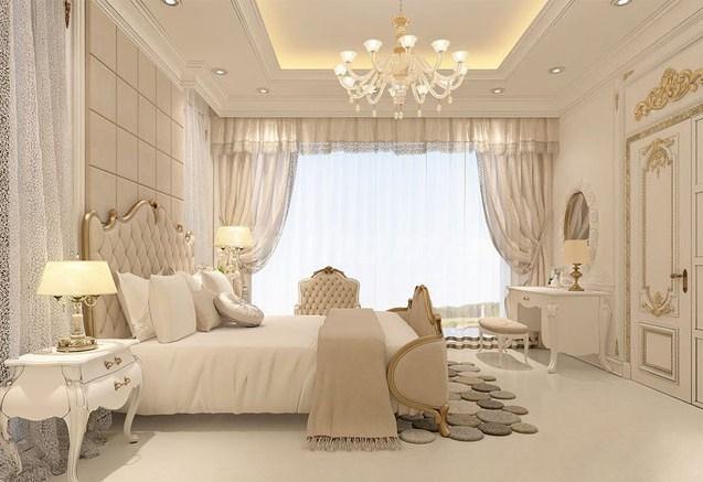 Phong cách giường tân cổ điển trọn bộ