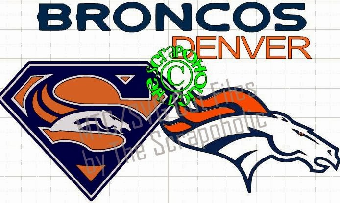 Download The Scrapoholic : Superbowl 48 ~ Go Denver Broncos! Free ...