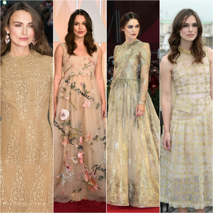 Outfit: dressing like Keira Knightley