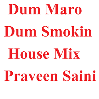 Praveen Saini - Dum Maro Dum Smokin House Mix