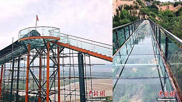Wahana Penguji Adrenalin di China