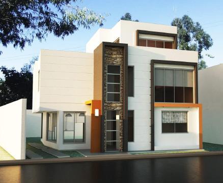 Dise e su propia casa de estilo moderno dise o for Diseno piscinas modernas colombia