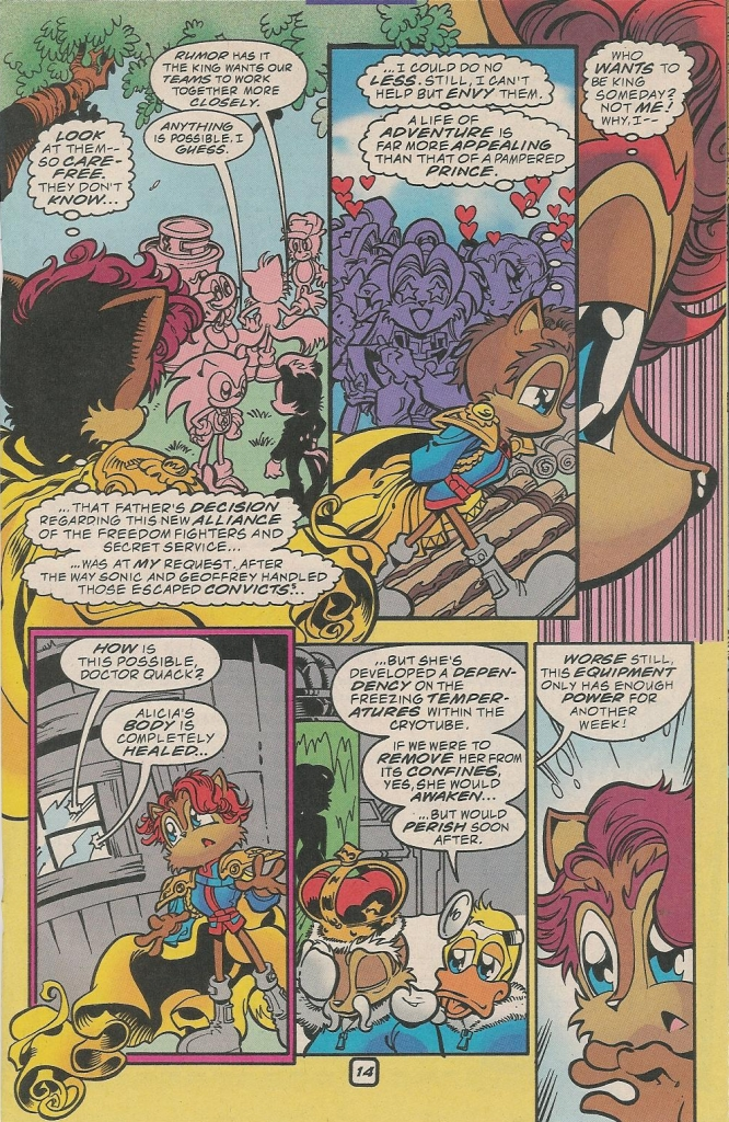 Read online Sonic The Hedgehog comic -  Issue #78 - 17