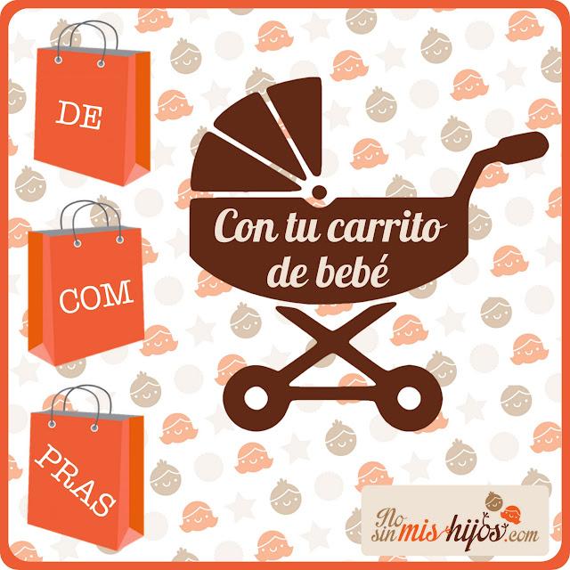 Infografía de compras con tu carrito de bebé