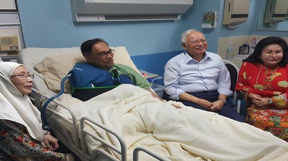Rampasan di hartanah berkaitan Najib, aib dan memualkan – Anwar