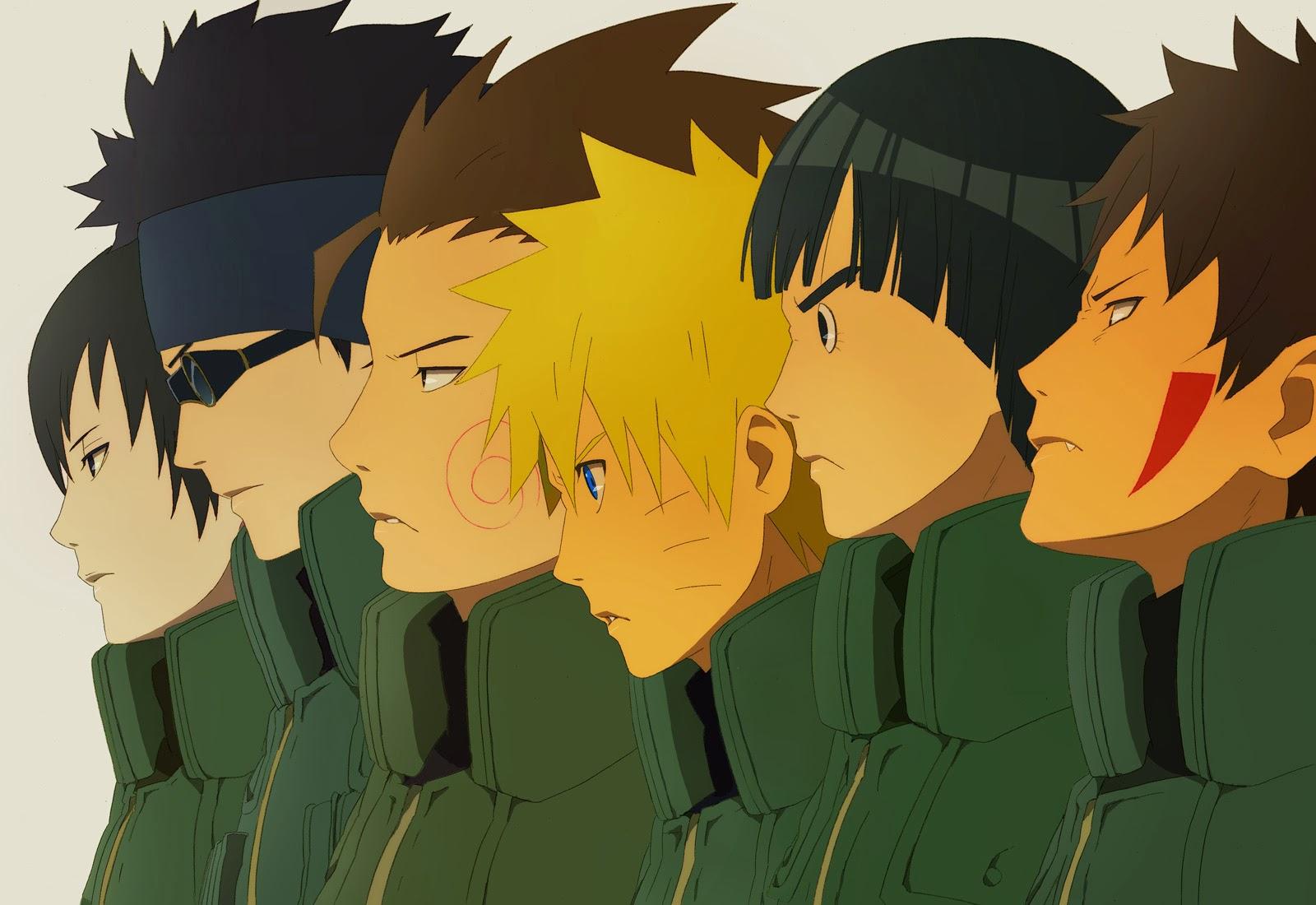 Download Kumpulan Gambar Sketsa Naruto Kartun