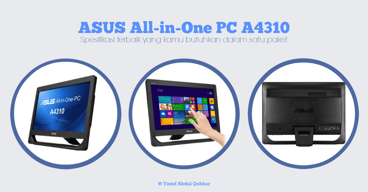 asus all in one computer a4310