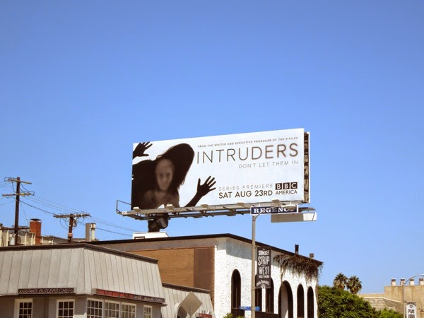 Intruders series premiere billboard