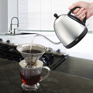 Electric Kettle for Pour Over Coffee and Tea #willowandeverett