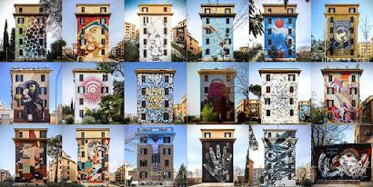 """Visita guidata ai Murales di Tor Marancia. """"Big City Life"""": un progetto corale di arte urbana partecipata"""