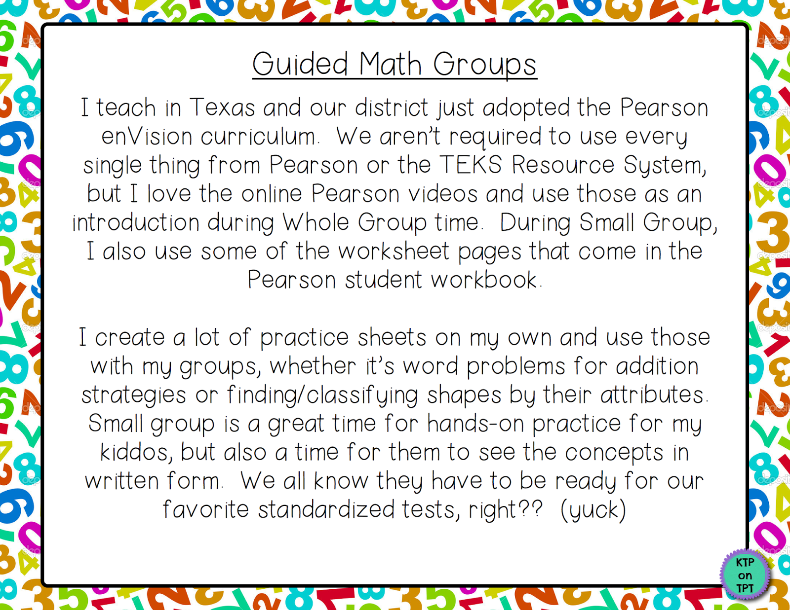 Keep Teaching And Planning Guided Math In Detail