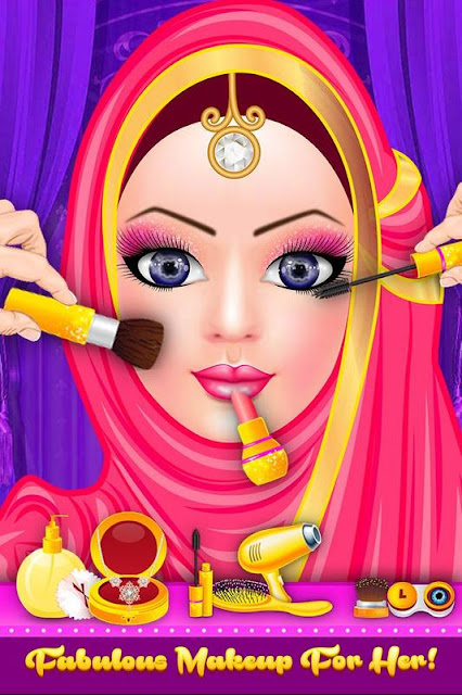Hijab Doll Fashion Salon Dress Up Game