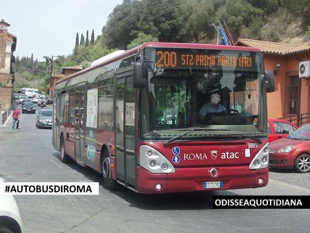 #AutobusDiRoma - Irisbus Citelis; i primi bus in livrea amaranto della Capitale