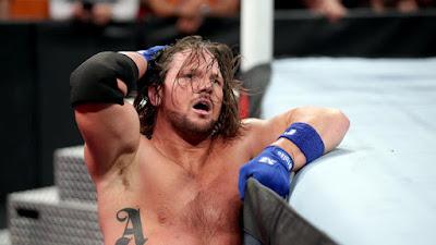 WWE A J Styles Photo