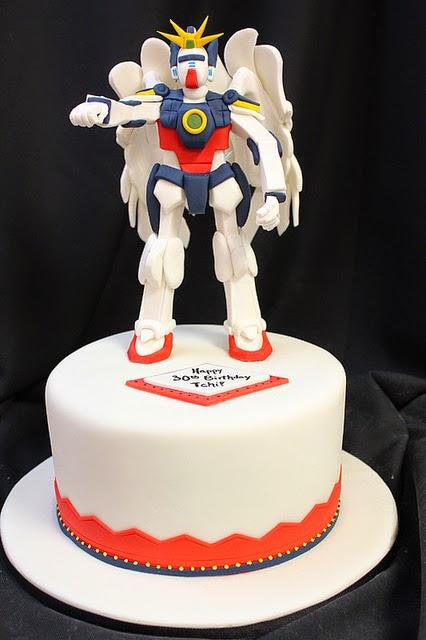 Adorable Gundam Cakes For Gundam Fans Special Occasion Gundam