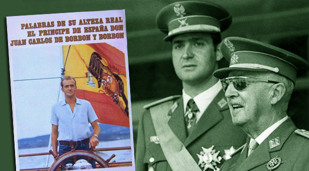 Lo que decía Juan Carlos de Borbón antes de la muerte de Franco