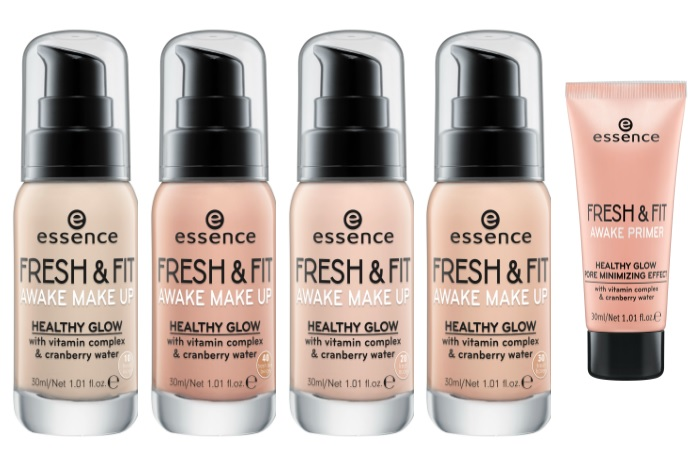 essence fresh & fit awake make-up