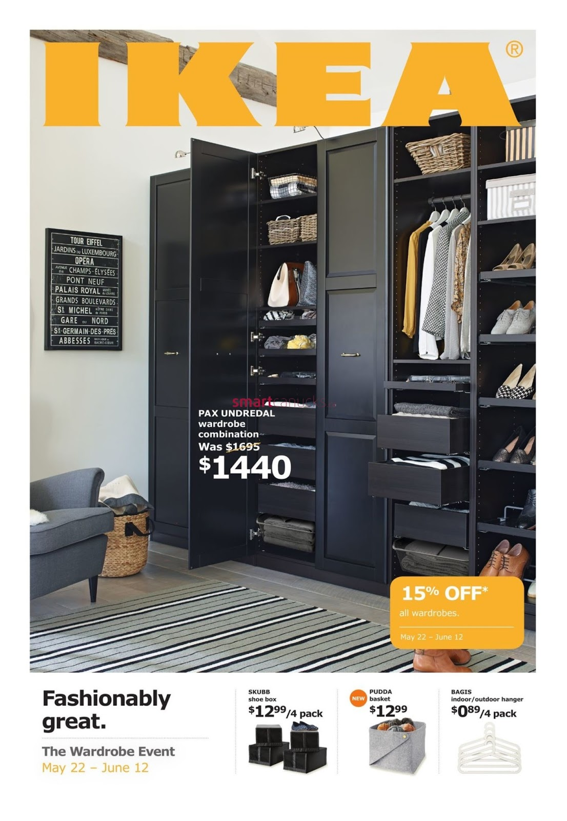 Ikea The Wardrobe Event Flyer May 22 To June 12 2017