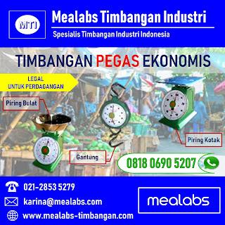 Timbangan Pegas Ekonomis