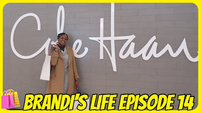 Brandi's Life Episode 14: Shop With Me at the Cole Haan Outlet Store| PrettyPRChickTV