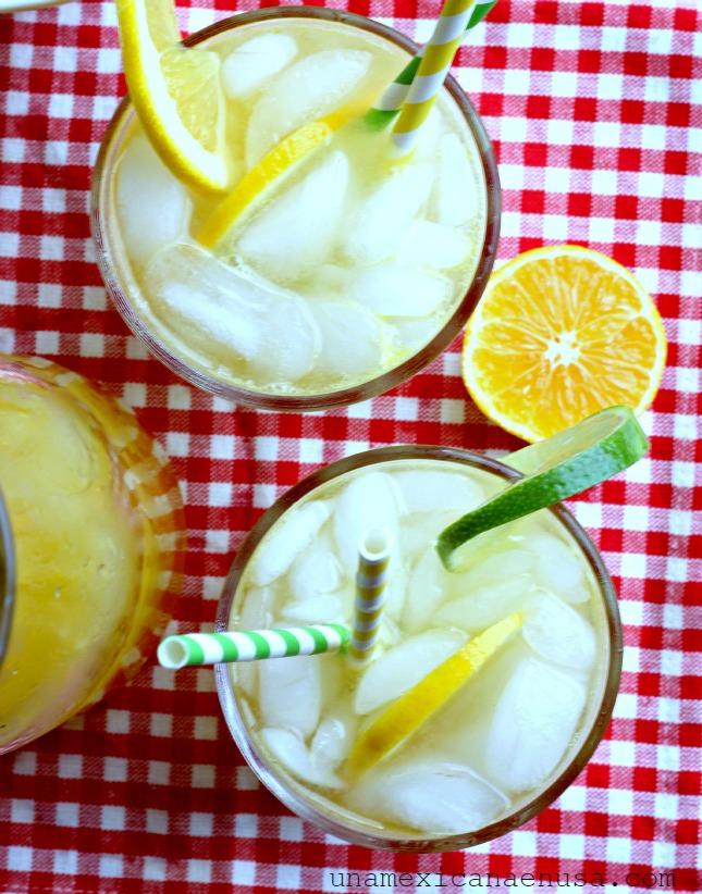 Refresco de mandarina, delicioso y refrescante. by www.unamexicanaenusa.com