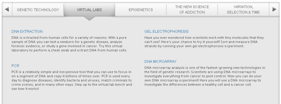 Learn genetics virtual labs glencoe