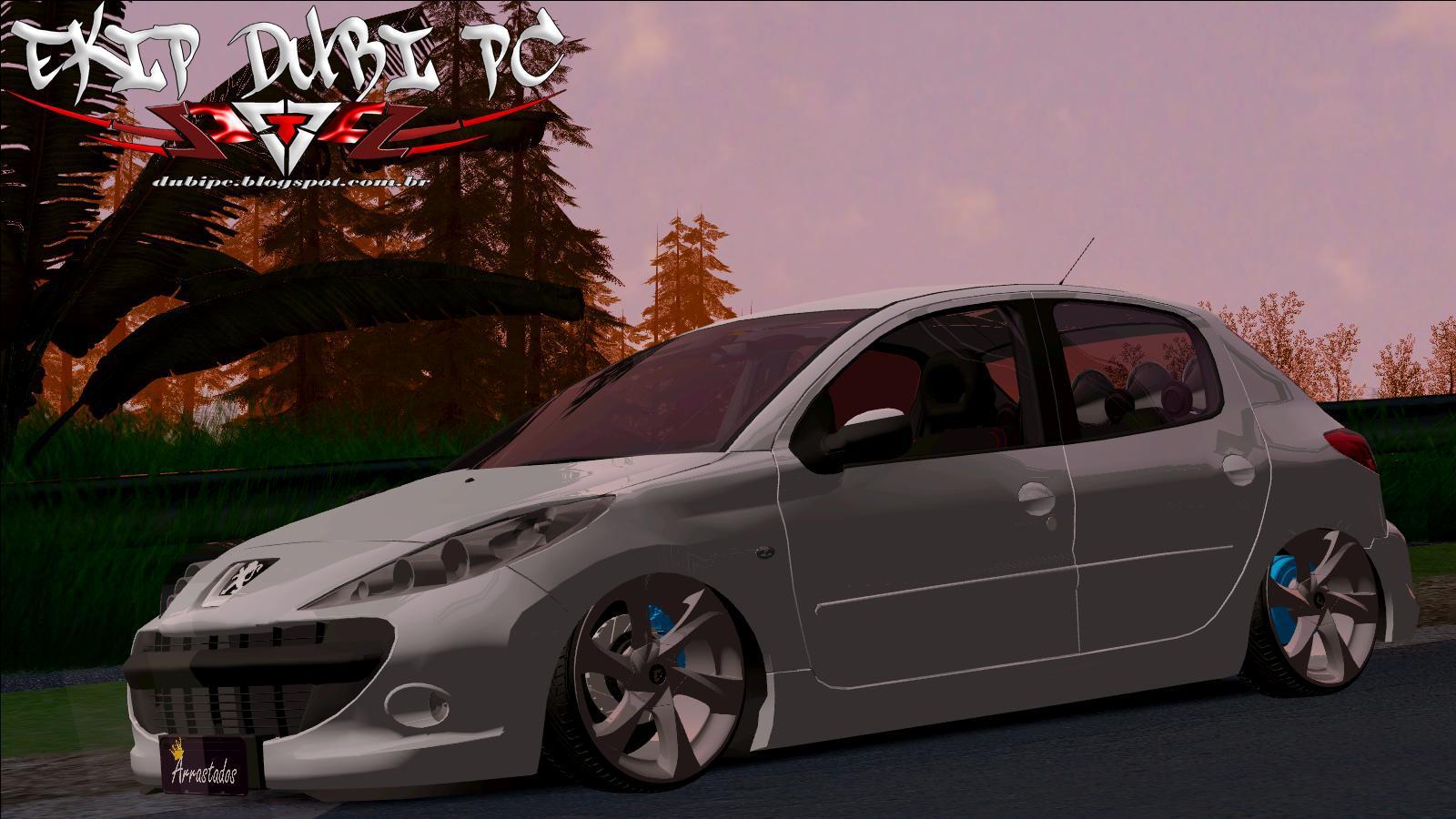 Peugeot 206 Na Fixa + Som = By DS3D ~ Ekip Dubi PC