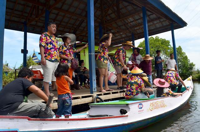 Bersiap susur sungai pute Rammang-Rammang, Maros, Sulsel +jelajahsuwanto