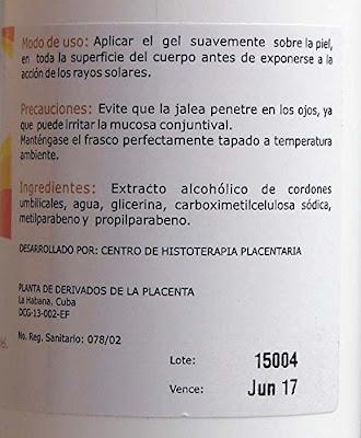 Protector Solar Para el Vitiligo Características e Ingredientes.