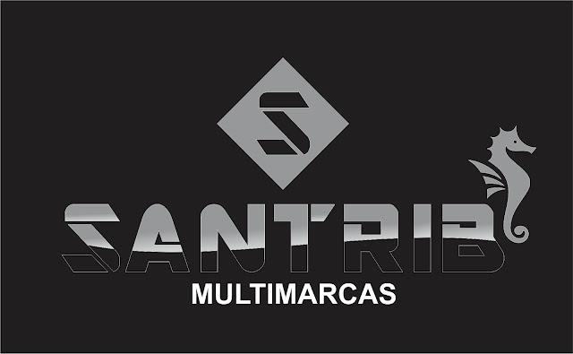 SANTRIB MULTIMARCAS - LOGOTIPO DESENVOLVIDO PARA EMPRESA DE ROUPAS - SFI