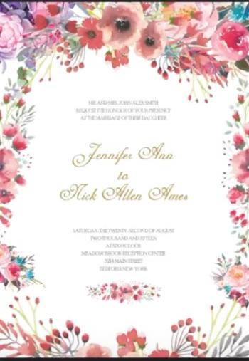 Wedding Card Design In Photoshop