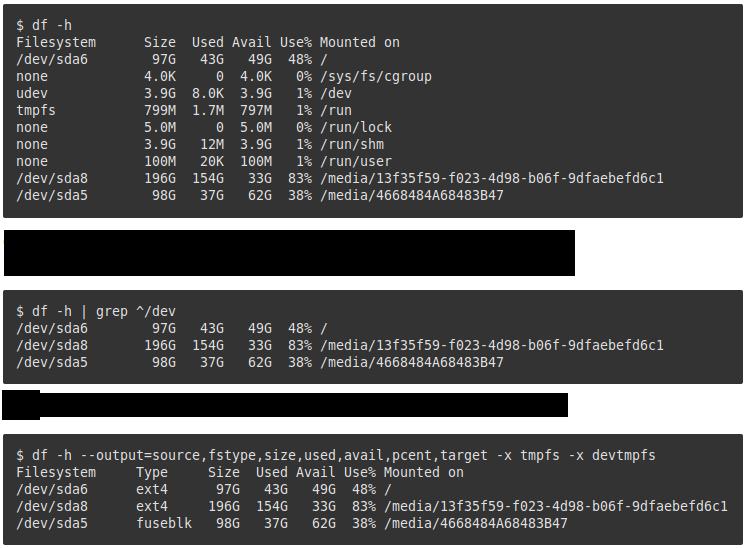 9 Command Untuk Cek/Repair/Manage Disk Drive di Linux/Unix