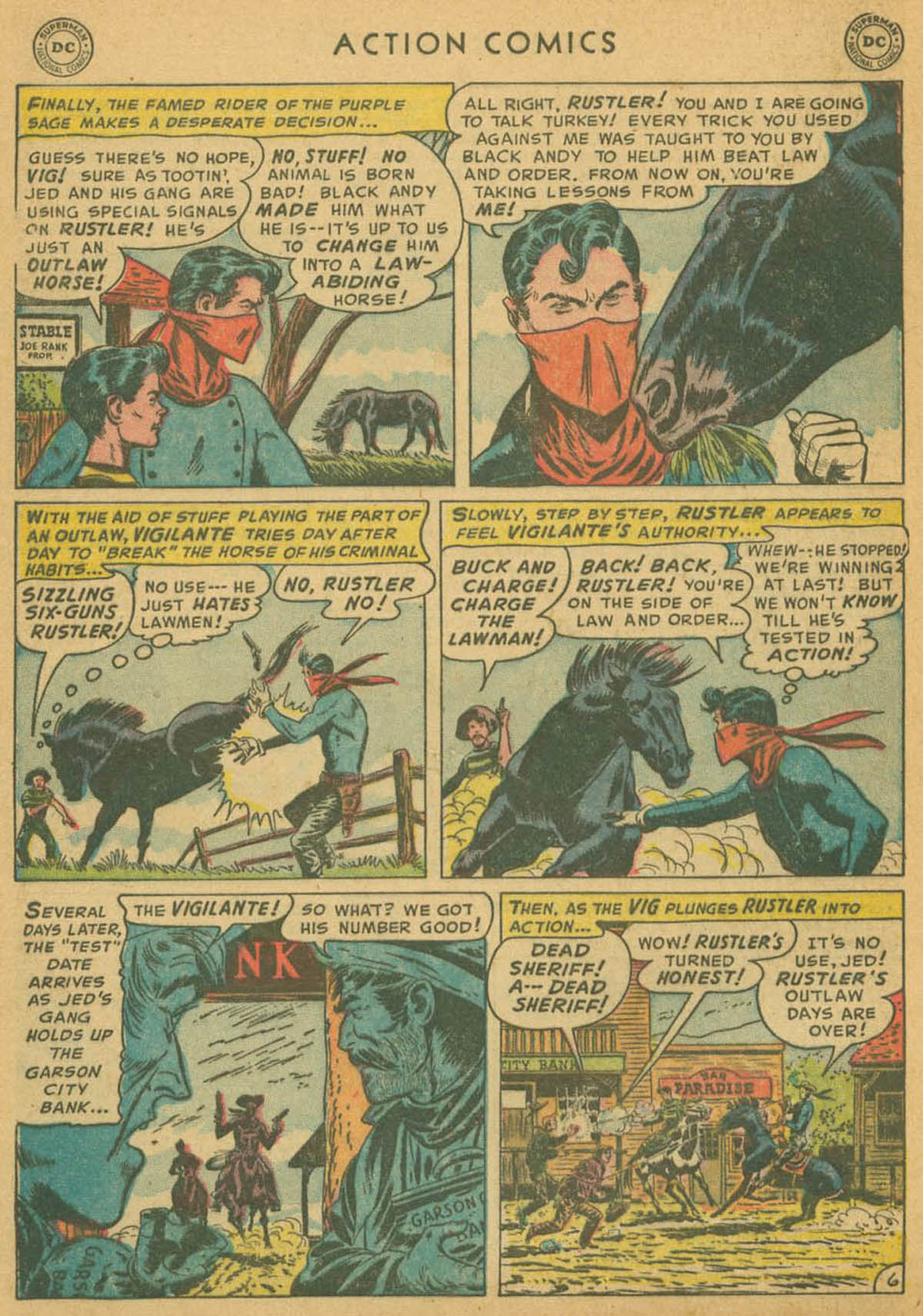 Read online Action Comics (1938) comic -  Issue #178 - 38