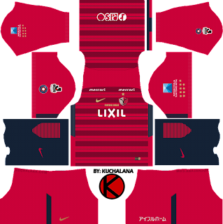 to you customize team in Dream League Soccer  Baru!!! Kashima Antlers 鹿島アントラーズ 2018 - Dream League Soccer Kits