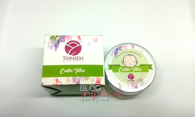 Balm Tasneem Naturel, Balm Tasneem, Calm Time