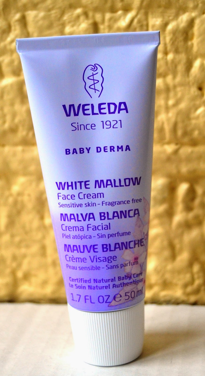 Weleda baby skincare products for sensitive skin and eczema