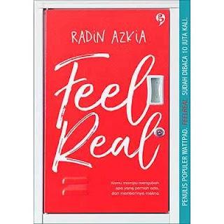 Feel Real novel populer wattpad yang dibukukan