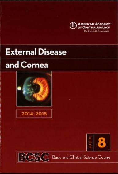 [AAO 2014-2015] Section 8 External Disease and Cornea [PDF]